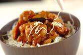 鶏肉の照り焼きユズマヨ丼の作り方2