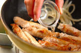 お餅と豚肉のショウガ焼きの作り方6
