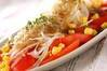 トマトとジャコのサラダの作り方の手順