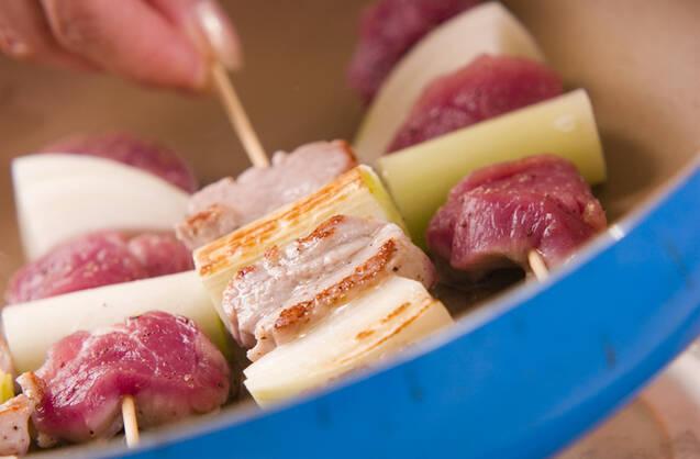 串焼き豚の作り方の手順3
