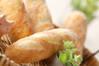 ミニフランスパンの作り方の手順