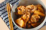 手羽のニンニクポン酢煮