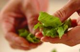 レタスと海苔のサラダの作り方1