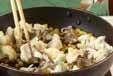 コーンのバター炒めの作り方2
