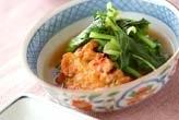 青菜と練り物の煮物