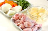 炊飯器でタットリタン(韓国風旨辛煮)の下準備1