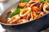 イカと新玉ネギのトマト煮の作り方3