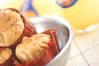 ピーナッツバターマフィンの作り方の手順