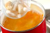 レタスと豆腐の中華スープの作り方1