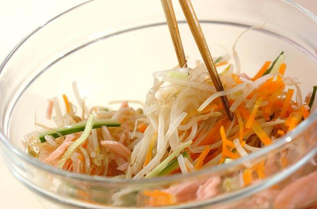 春雨サラダの作り方の手順8
