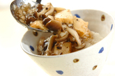 キノコたっぷりあんかけ丼の作り方3