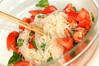 イタリア風トマト素麺の作り方の手順3