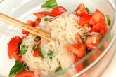 イタリア風トマト素麺の作り方3