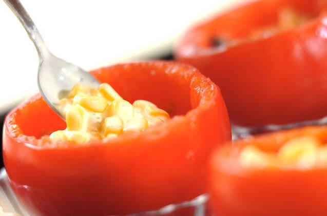 トマトのコーンマヨ焼きの作り方の手順6
