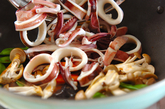 イカのオイスター炒めの作り方4