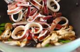 イカのオイスター炒めの作り方10