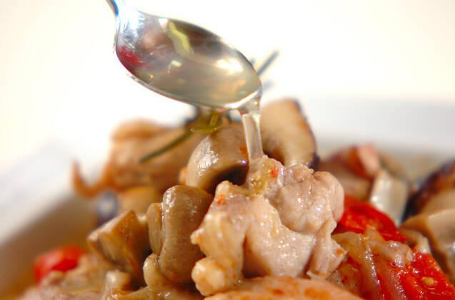 ハーブチキンのオイル煮の作り方の手順7