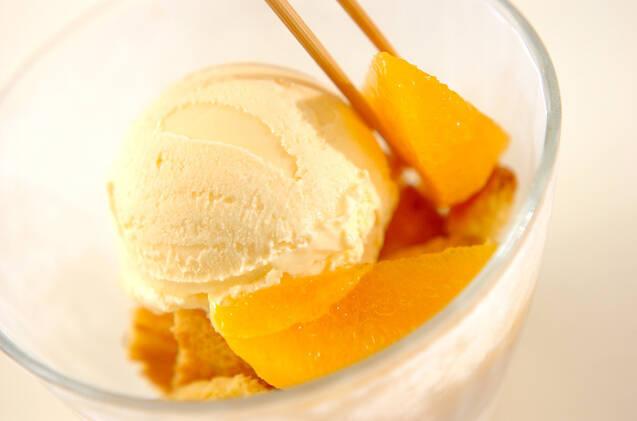 オレンジパフェの作り方の手順3
