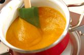 柿ジャムの作り方1