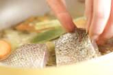 蒸し白身魚の赤ワインソースの作り方3