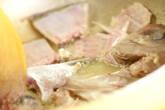 蒸し白身魚の赤ワインソースの作り方2
