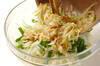 大根の塩もみサラダの作り方の手順6