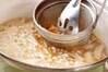 エノキのみそ汁の作り方の手順5