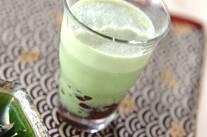 抹茶豆乳ドリンク