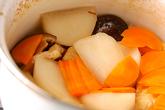 カブと厚揚げの煮物の作り方3