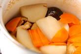 カブと厚揚げの煮物の作り方4