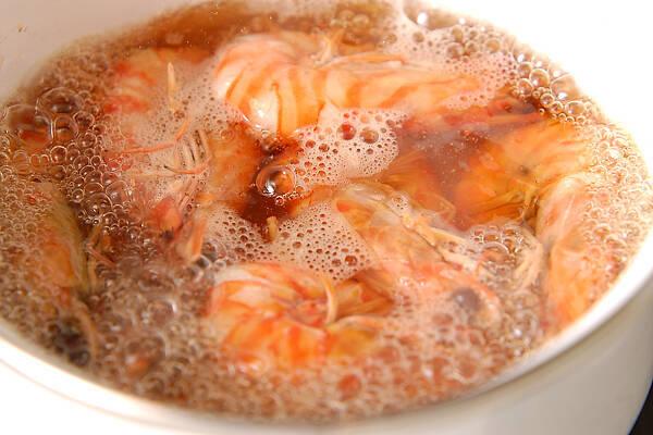 エビの甘煮の作り方の手順5