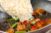 ウナたま素麺チャンプルーの作り方2