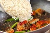 ウナたま素麺チャンプルーの作り方6