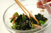 ホウレン草のジャコ和えの作り方2