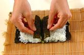 くまさんデコ巻き寿司の作り方4