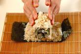 くまさんデコ巻き寿司の作り方6