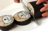 くまさんデコ巻き寿司の作り方8