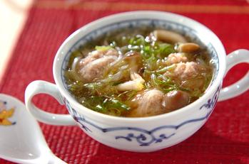 豚肉団子のスープ