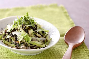 ヒジキとレタスのサラダ