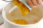 エノキのコーンスープの作り方2