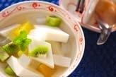 サクッとアンニン豆腐