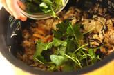 キノコの炊き込みご飯の作り方10
