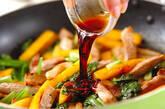 豚肉と柿の炒め物の作り方3