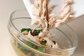 ほうれん草とささ身のナッツ和えの作り方3