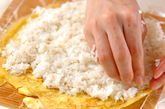 卵巻き寿司の作り方3