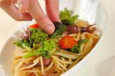 ホタルイカと菜の花のパスタの作り方5