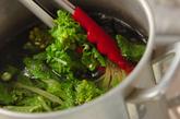 ホタルイカと菜の花のパスタの作り方2