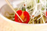 茶そばと大根のサラダの作り方6