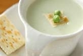 エンドウ豆のポタージュ