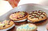 マシュマロサンドクッキーの作り方2